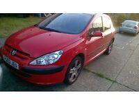 Peugeot 307.!!! £200. SPARES OR REPAIR !!! £200