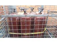 Acetylene Gas Bottles Large 4ft