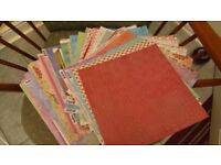 12x12inch scappbooking card