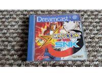 sega dreamcast Capcom vs Snk boxed with instructions