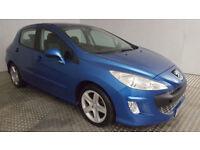 2008(58)PEUGEOT 308 SPORT 1.6 HDi MET BLUE,5DR,NEW MOT,CLEAN CAR,GREAT VALUE