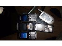 Job lot 5 Mobile phones