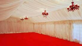 Kervi's Marquee hire/Decor