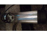 "1 x 6"" cool tubes hydroponic light"