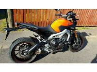 Yamaha mt09 swap or px for sports bike