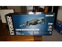 ERBAUER 1100W RECIPROCATING SAW - BRAND NEW IN BOX