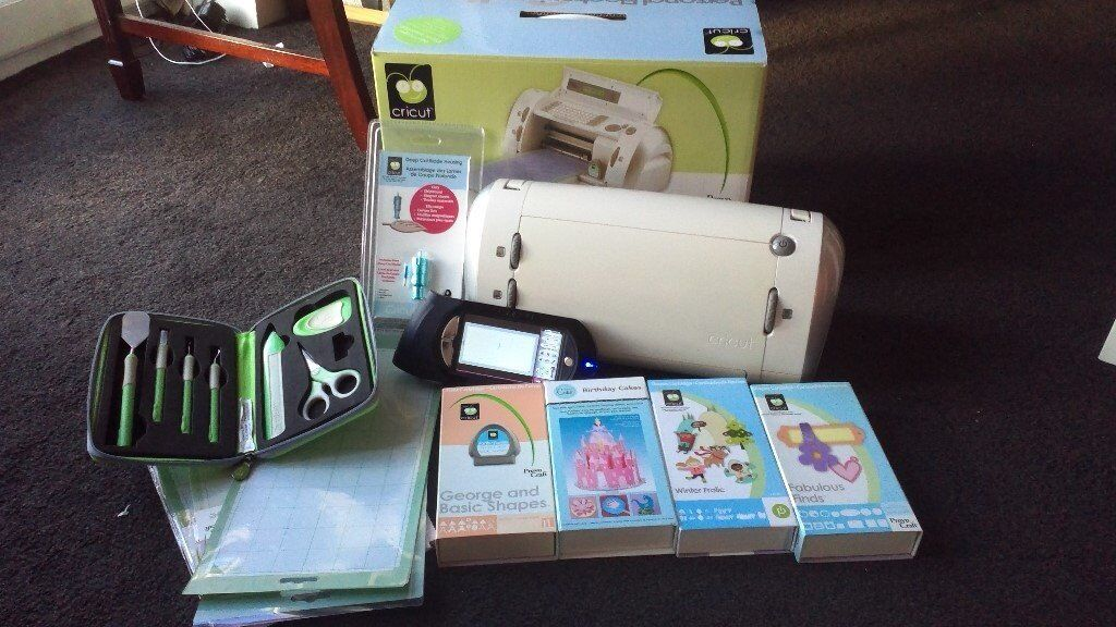 Boxed Cricut Personal Craft Machine And Gypsy Design Studio With