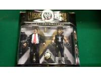 Wwe jakks figures Paul bearer and undertaker