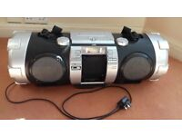 Used JVC RV-NB70 Boombox in Silver (Parts)