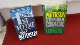 JAMES PATTERSON X2 PAPER BACK BOOKS