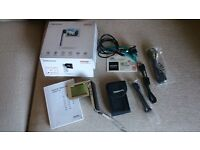 TOSHIBA CAMILEO S30 FULL HD MINI CAMCORDER WITH 8gb SONY MEMORY CARD AS NEW