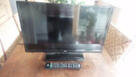 television and dvd combo 24 inch jvc with freeview