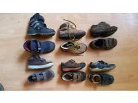 Clarks Pepino Ricosta Boys Shoes UK 8H 8.5H 9H Wide Feet