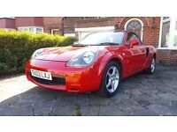 Toyota MR2 1.8 VVT-i Roadster 2dr Automatic/Tiptronic gear