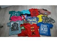 Boys 3-4 tshirt bundle