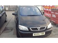 vauxhall zafira 1598cc petrol 7 seater 05 plate bargain 795 no more offers