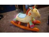 Kids rocking horse ( like new )