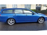 Honda Accord Executive estate full service history 56plate leather seat alloy cd tow bar £895
