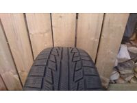 205/55/17 winter tyres x2
