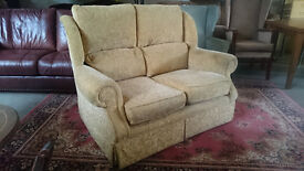 2 seater high back sofa (delivery available)