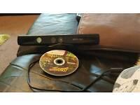 Xbox 360 kinect sensor and game