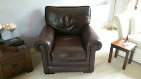 Parker Knoll Leather Armchair, excellent condition