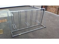cycle stand for 6 bicycles