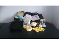 Medela Freestyle Double Breast Pump with Calma Teat