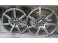 Sell 4Mazzini tyres 235/45/17,alloys Honda17