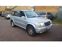 2002 02 reg Suzuki Grand Vitara lwb 4x4 XL.7 V6 petrol very good condition