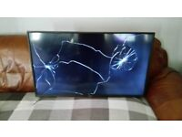 SHARP AQOUS SMART TV 40 INCH WITH BUILT IN WIFI...MODEL NO LC-40CFE6351K