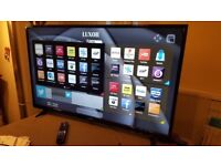 LUXOR 50 TV SUPER Smart HD TV,built in Wifi,Freeview HD, NETFLIX. COMES WITH REMOTE CONTROL