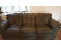 Dark Green 3 seater Sofa for sale