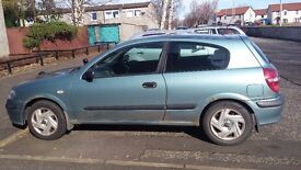 Spares and Repairs: Nissan Almera Blue Automatic MOT til August