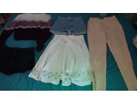 Women's size 8-10 clothes Hollister, Superdry, Missguided