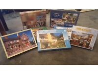 Selection of Jigsaw puzzles unopened