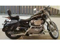 Harley Davidson X L Custom 100th Anniversary