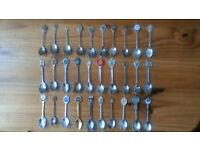 Spoons (30), from UK & abroad.
