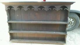 Vintage Oak dresser top