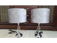 Pair of beautiful LAMPS, bargain, excellent condition