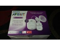 New phillips avent easy comfort electric breast pump