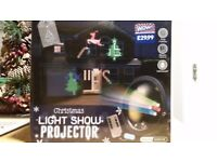 Brand new outdoor Xmas light show projector
