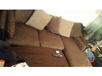 large 3 seater corner sofa