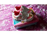 Princess trainers size 10