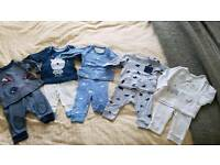 ***BABY BOY 0-3 months BUNDLE OF PYJAMAS*** MOTHERCARE