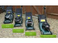 Hayter petrol lawnmower - price on picture