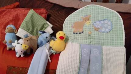 Bulk lot cot bedding, baby boy clothes 00 -  2, shoes, soft toys Wagga Wagga 2650 Wagga Wagga City Preview