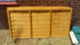 Fence panels 3ft x 6ft brand new £10 each bargain