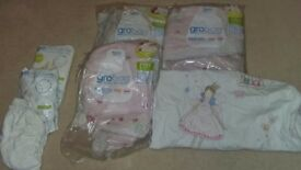 Gro bags and gro swaddles 0-18m
