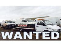 Volkswagen transporter caddy lt35 crafter wanted!!!